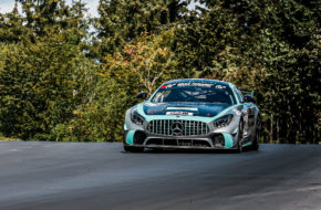 Phil Hill Kaj Schubert Celiá Martin Jörg van Ommen Autosport Mercedes-AMG GT4 Nürburgring Langstrecken-Serie Nürburgring-Nordschleife