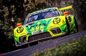 Mathieu Jaminet Matt Campbell Lars Kern Manthey Racing Porsche 911 GT3 R Nürburgring Langstrecken-Serie Nürburgring-Nordschleife