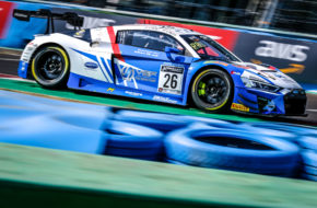 Steven Palette Simon Gachet Sainteloc Racing Audi R8 LMS GT World Challenge Sprint Cup Magny Cours