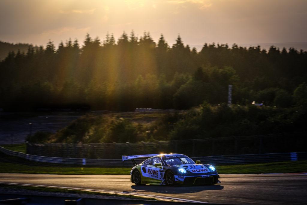 Klaus Bachler Dirk Werner Julien Andlauer ROWE Racing Porsche 911 GT3 R GT World Challenge Europe Endurance Cup Nürburgring
