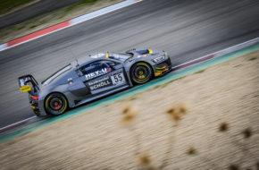 Nicolas Schöll Alex Arkin Aka Finlay Hutchison Attempto Racing Audi R8 LMS GT3 GT World Challenge Europe Endurance Cup Nürburgring