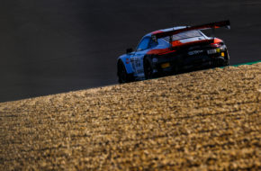Romain Dumas Dennis Olsen Thomas Preining GPX Racing Porsche 911 GT3 R GT World Challenge Europe Endurance Cup Nürburgring