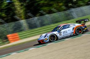 Louis Delétraz Thomas Preining Romain Dumas GPX Racing Porsche 911 GT3 R GT World Challenge Europe Endurance Cup Imola