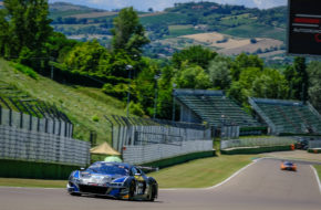 Nicolas Schöll Alex Arkin Aka Tommaso Mosca Attempto Racing Audi R8 LMS GT3 GT World Challenge Europe Endurance Cup Imola