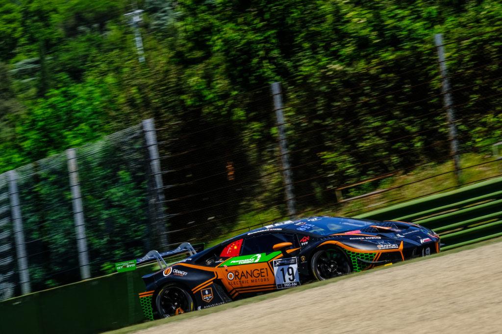Hiroshi Hamaguchi Phil Keen Orange 1 FFF Racing Team Lamborghini Huracan GT3 GT World Challenge Europe Endurance Cup Imola