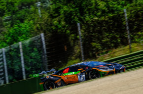 Hiroshi Hamaguchi Phil Keen Orange 1 FFF Racing Team Lamborghini Huracan GT3 GT World Challenge Europe Endurance Cup Imola