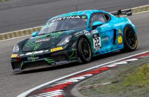 Jan Kasperlik Bastian Buus Allied-Racing Porsche 718 Cayman GT4 Clubsport MR GT4 European Series Nürburgring