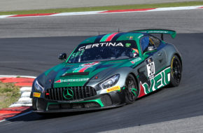 Kenneth Heyer Wim Spinoy Selleslagh Racing Team Mercedes-AMG GT4 GT4 European Series Nürburgring