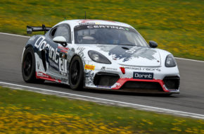 Jörg Viebahn Nicolaj Möller Madsen Allied-Racing Porsche 718 Cayman GT4 Clubsport MR GT4 European Series Nürburgring