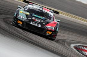 Rahel Frey Hendrik von Danwitz Aust Motorsport Audi R8 LMS GT3 ADAC GT Masters Nürburgring
