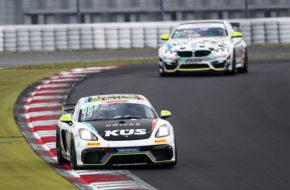 Alexander Tauscher Kim Berwanger KÜS Team75 Bernhard ADAC GT4 Germany Nürburgring