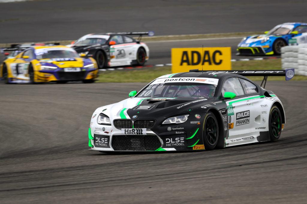Henric Skoog Nick Yelloly Schubert Motorsport BMW M6 GT3 ADAC GT Masters Nürburgring
