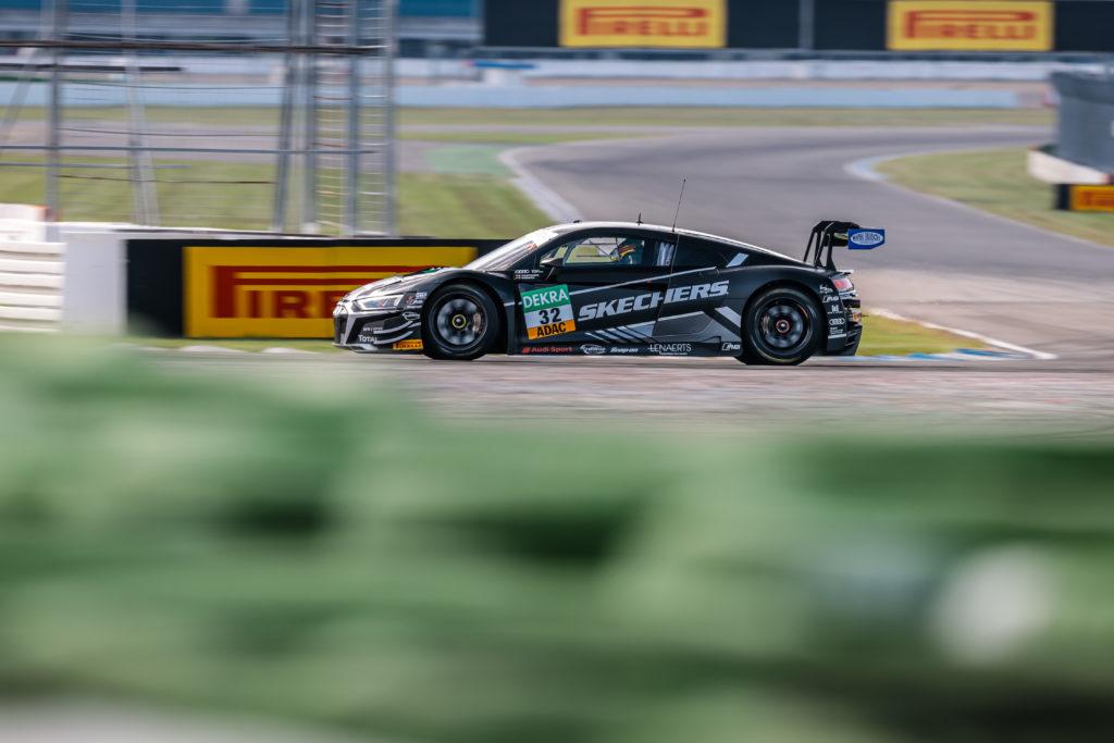 Charles Weerts Dries Vanthoor WRT Audi R8 LMS GT3 ADAC GT Masters Hockenheim