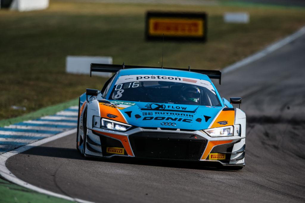 Dennis Marschall Carrie Schreiner Rutronik Racing Audi R8 LMS GT3 ADAC GT Masters Hockenheim