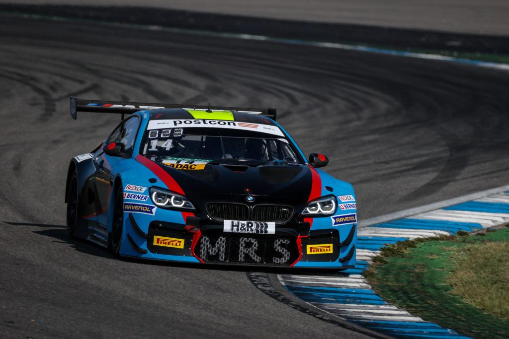 Erik Johansson Jens Klingmann MRS GT-Racing BMW M6 GT3 ADAC GT Masters Hockenheim