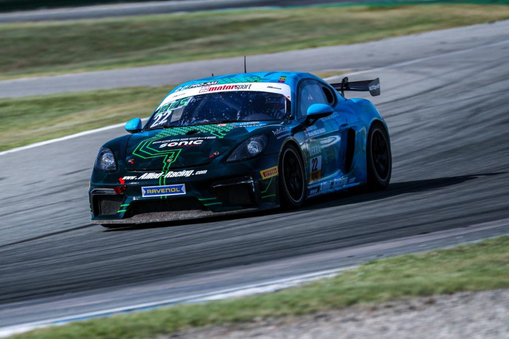 Jan Kasperlik Nicolaj Møller-Madsen Allied-Racing Porsche 718 Cayman GT4 Clubsport MR ADAC GT4 Germany Hockenheim