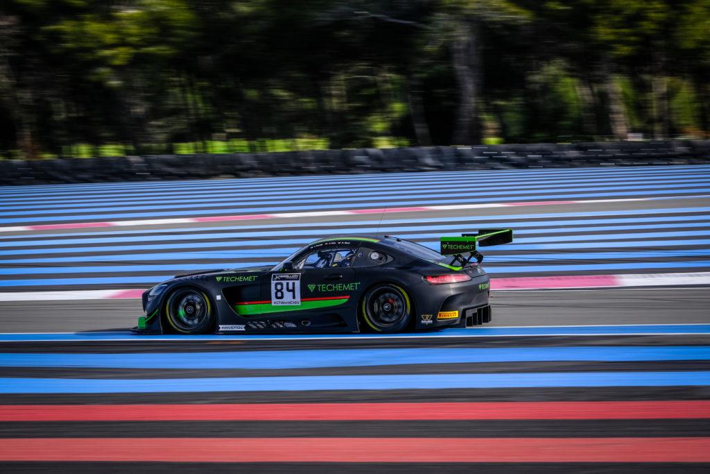 Indy Dontje Philip Ellis Russell Ward HTP WINWARD Motorsport Mercedes-AMG GT3 GT World Challenge Europe Le Castellet