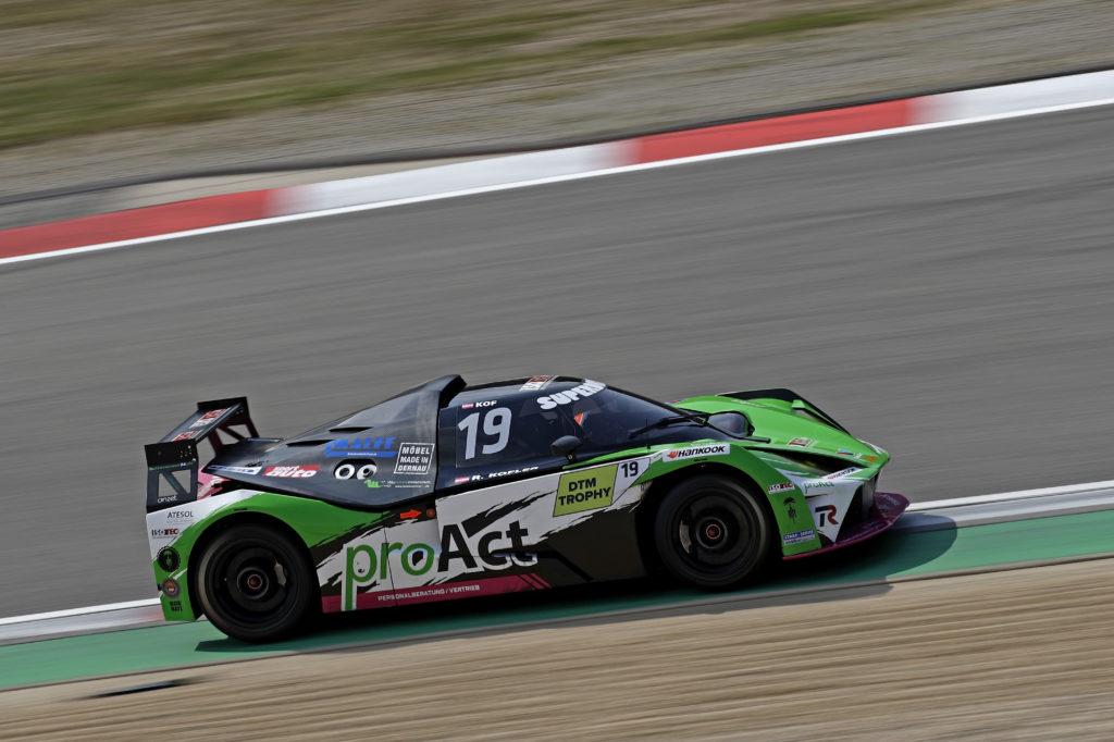 Reinhard Kofler Teichmann Racing KTM X-Bow DTM Trophy Nürburgring