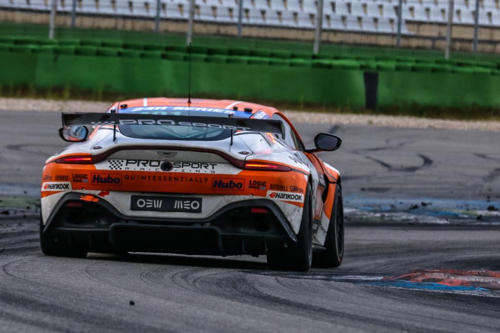 Nico Verdonck Rodrigue Gillion Tom Heeren PROsport Racing Aston Martin Vantage GT4 24H Series Hockenheim