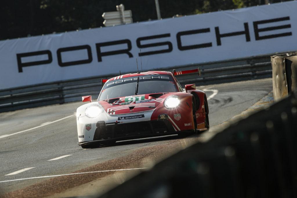 Gianmaria Bruni Richard Lietz Frédéric Makowiecki Porsche GT Team Porsche 911 RSR FIA WEC 24h Le Mans