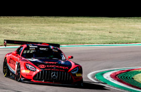 Hubert Haupt Sergey Afansiev Finlay Hutchison Haupt Racing Team Mercedes-AMG GT3 GT World Challenge Europe Endurance Cup Imola