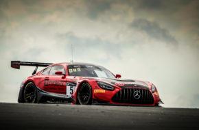 Hubert Haupt Sergey Afanasiev Joel Camathias Haupt Racing Team Mercedes-AMG GT3 GT World Challenge Europe Endurance Cup Nürburgring