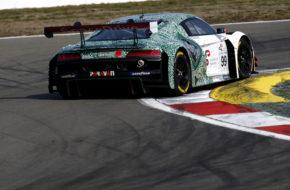 Markus Winkelhock Phoenix Racing Audi R8 LMS GT3 GTC Race Nürburgring