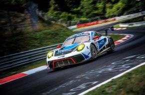 Alexandre Imperatori Josh Burdon Edoardo Liberati KCMG Porsche 911 GT3 R Nürburgring Langstrecken-Serie Nürburgring-Nordschleife
