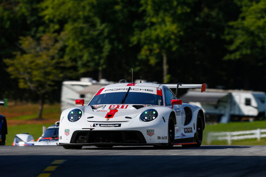 Nick Tandy Frédéric Makowiecki Porsche GT-Team Porsche 911 RSR IMSA WeatherTech SportsCar Championship Road Atlanta