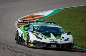 Franck Perera Albert Costa Grasser Racing Team Lamborghini Huracan GT3 ADAC GT Masters Sachsenring