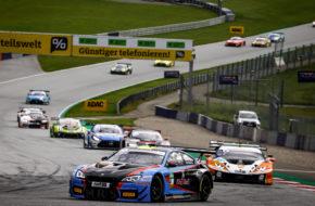 Erik Johansson Jens Klingmann MRS GT-Racing BMW M6 GT3 ADAC GT Masters Red Bull Ring