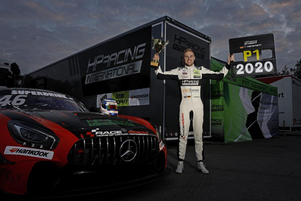 Tim Heinemann HP Racing International Mercedes-AMG