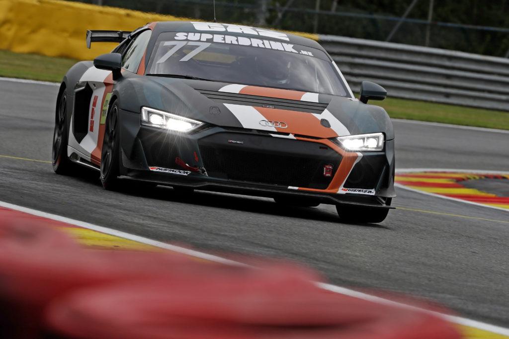 David Serban Carbogaz Racing Audi R8 LMS DTM Trophy Spa-Francorchamps