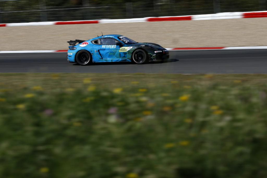 Felix Hirsiger Allied-Racing Porsche Cayman Clubsport MR DTM Trophy Nürburgring