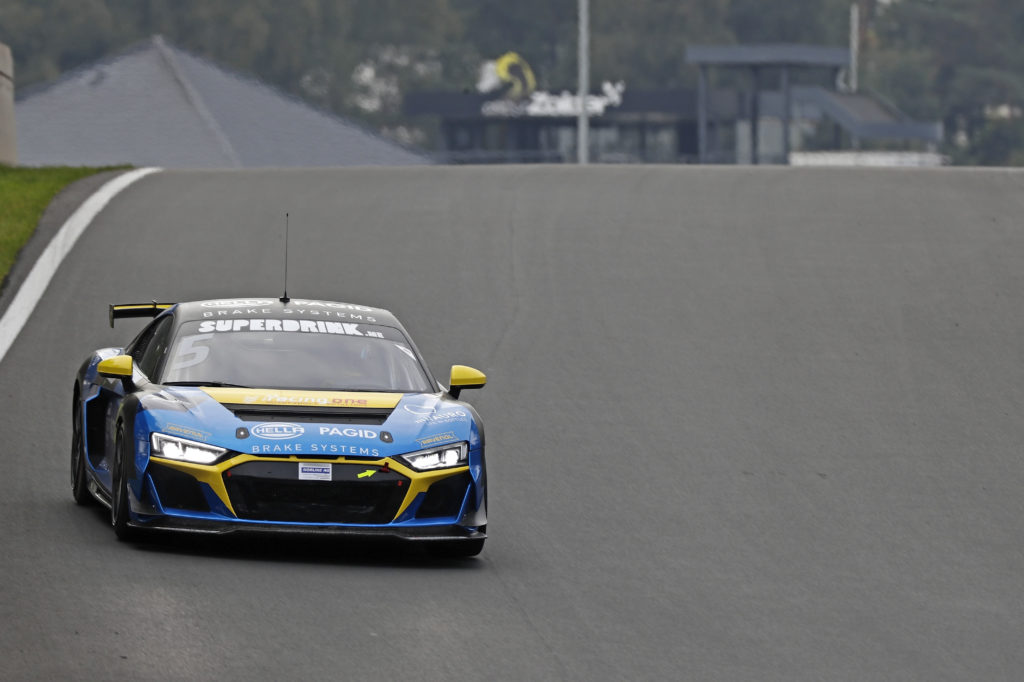 Lucas Ayrton Mauron Racing One Audi R8 LMS DTM Trophy Zolder