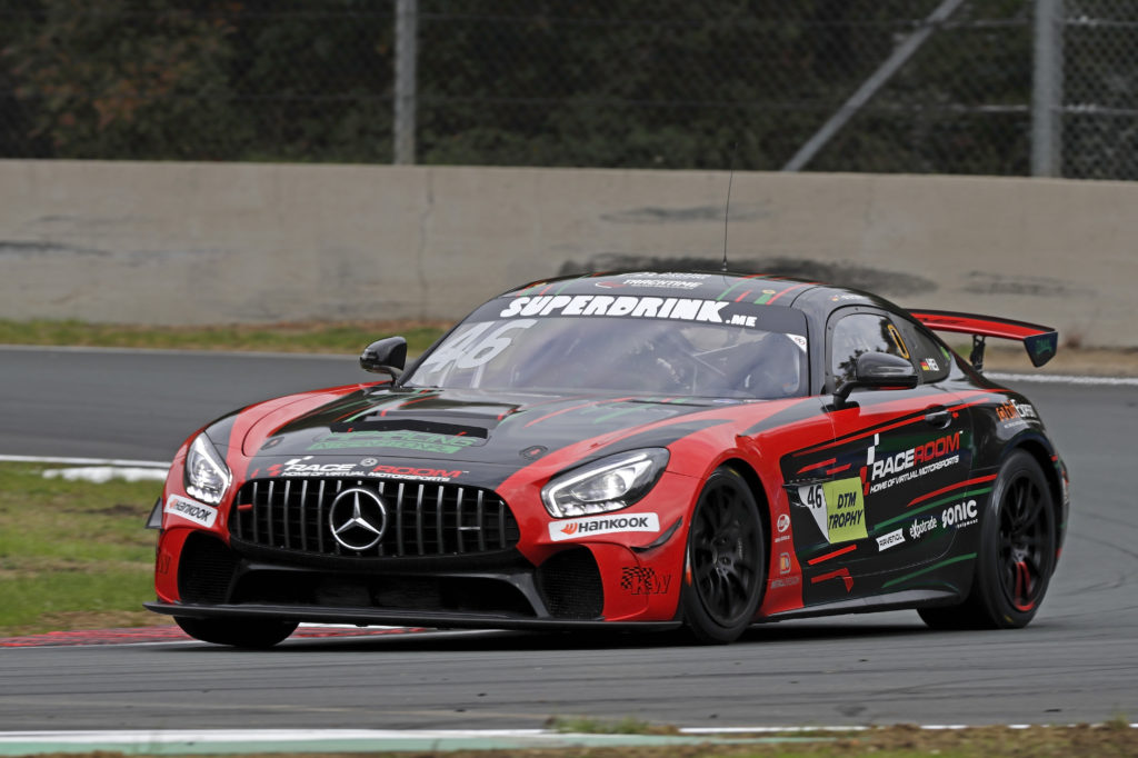 Tim Heinemann HP Racing International Mercedes-AMG DTM Trophy Zolder