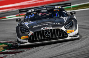 Valentin Pierburg Dominik Baumann SPS automotive performance Mercedes-AMG GT3 GT World Challenge Europe Barcelona