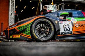 Andrea Caldarelli Marco Mapelli Dennis Lind Orange 1 FFF Racing Team Lamborghini Huracan GT3 GT World Challenge Europe 24h Spa