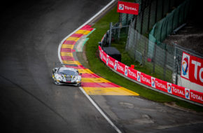 Marcos Gomes Kamui Kobayashi Tom Blomqvist HubAuto Racing Ferrari 488 GT3 GT World Challenge Europe 24h Spa