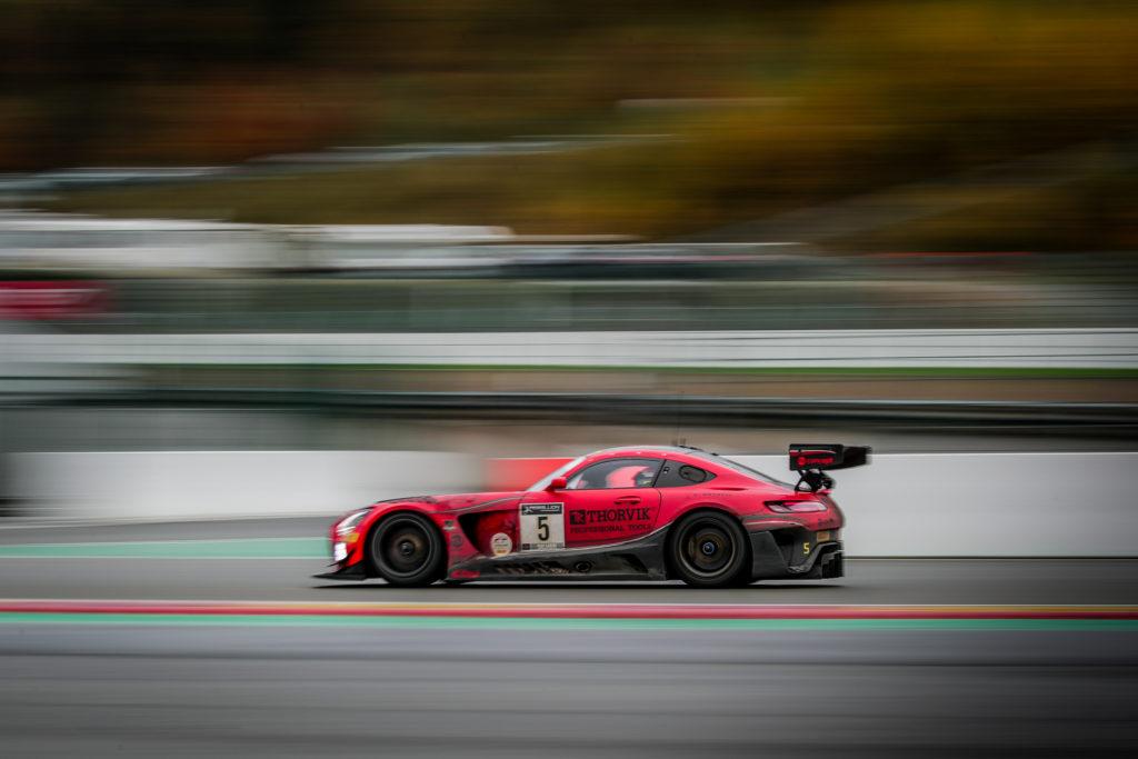 Hubert Haupt Sergej Afanasiev Michele Beretta Gabriele Piana Haupt Racing Team Mercedes-AMG GT3 GT World Challenge Europe 24h Spa