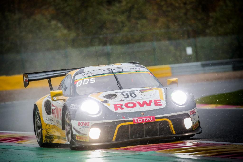 Nick Tandy Laurens Vanthoor Earl Bamber ROWE Racing Porsche 911 GT3 R GT World Challenge Europe 24h Spa