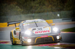 Nick Tandy Laurens Vanthoor Earl Bamber ROWE Racing Porsche 911 GT3 R GT World Challenge Europe 24h Spa