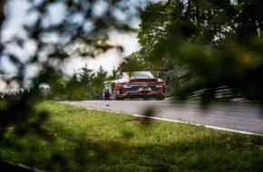 Marco Holzer Lorenzo Rocco Di Torrepadula Patrick Kolb Huber Motorsport Porsche 911 GT3 R Nürburgring Langstrecken-Serie Nürburgring-Nordschleife
