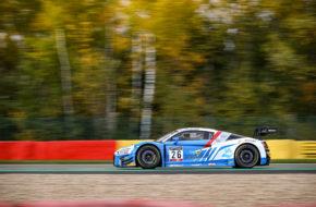Pierre Yves Paque Gregory Paisse Christophe Cresp Steven Palette Sainteloc Racing Audi R8 LMS GT3 GT World Challenge Europe 24h Spa