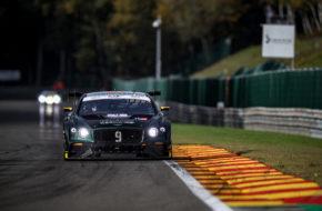 Rodrigo Baptista Andy Soucek Alvaro Parente K-Pax Racing Bentley Continental GT3 GT World Challenge Europe 24h Spa