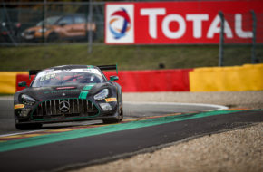 Russell Ward Indy Dontje Philip Ellis HTP WINWARD Motorsport Mercedes-AMG GT3 GT World Challenge Europe 24h Spa