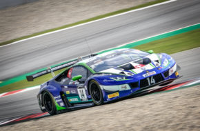 Mikael Grenier Ricardo Feller Emil Frey Racing Lamborghini Huracan GT3 GT World Challenge Barcelona