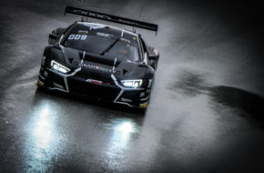 Ryuichiro Tomita Kelvin van der Linde Belgian Audi Club Team WRT Audi R8 LMS GT3 GT World Challenge Europe Barcelona