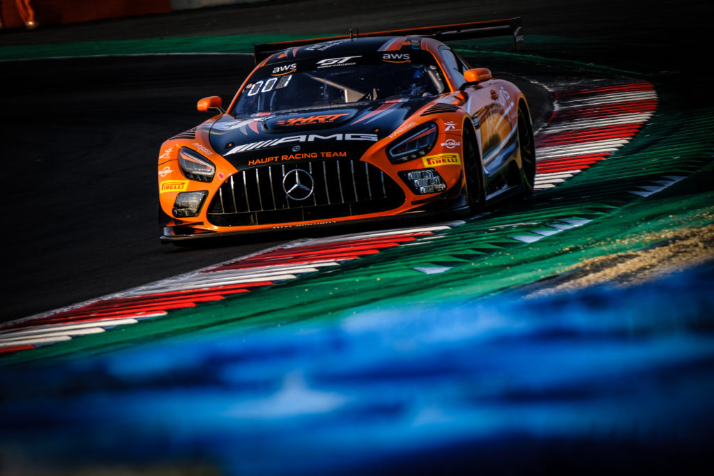 Luca Stolz Maro Engel Haupt Racing Team Mercedes-AMG GT3 GT World Challenge Europe Sprint Cup Magny Cours