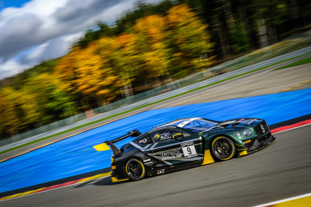 Rodrigo Baptista Andy Soucek Alvaro Parente K-Pax Racing Bentley Continental GT3 GT World Challenge Europe 24h Spa